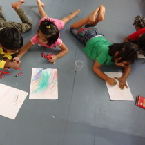 Free Drawing task - Toddler Art.