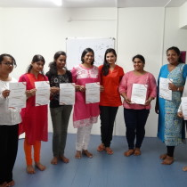 Successful completion of the two-day course on anger management.