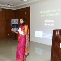 Presentation underway at NIH, Goa on March 19th.