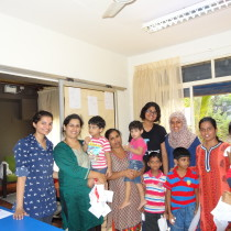 Kudos to the kiddos, their mums and my lovely team of interns. Successful closure of Group 1 life skills workshop.