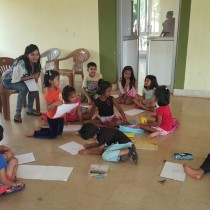 Getting to know each other better. - Guest Workshop Facilitator For Chhavi Goyal.