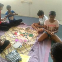 Creative Learning Workshop - Dream catchers in the making