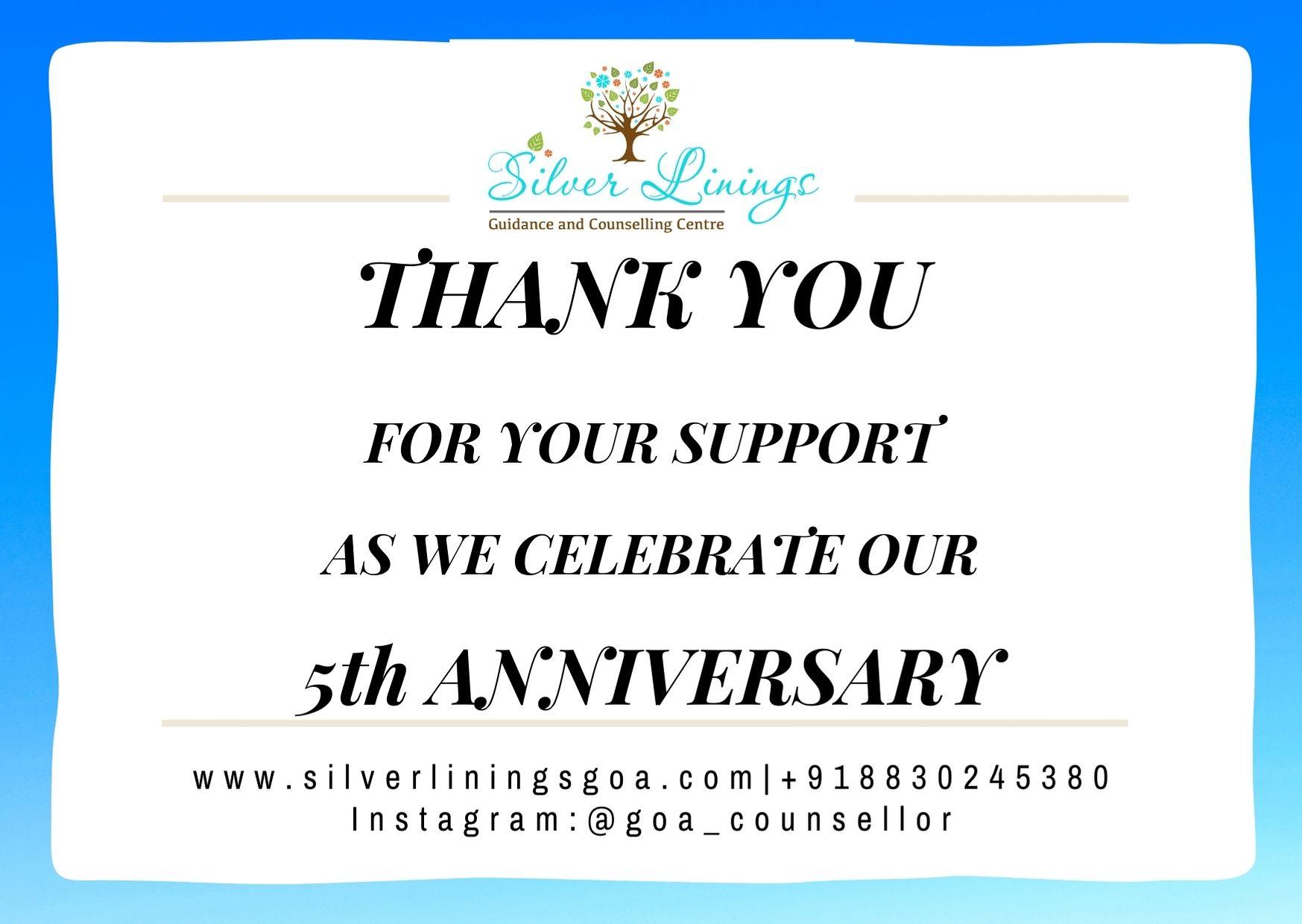 Thank You - 5 yeara